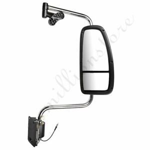 right Chrome Truck Mirror Complete For 1997 2010 International Harvester