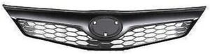To1200354 New Front Upper Grille Black For Toyota Camry Se 2012 2013 2014