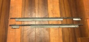 1970 1971 1972 Plymouth Duster Rear Interior Panel Upper Metal Trim Molding