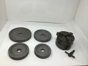3 jaw Double Chuck Kit Fits 1 Hd Arbor Shaft 4000 4100 Quick Ammco Brake Lathe