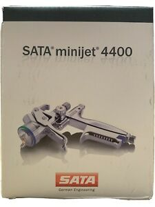 New Sata Minijet 4400 B Rp 0 8 W Rps Disposable Cups Hvlp Mini Detail Spray Gun