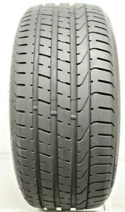 One Used 245 35zr20 2453520 Pirelli Pzero Porshe No 8 75 32 J129