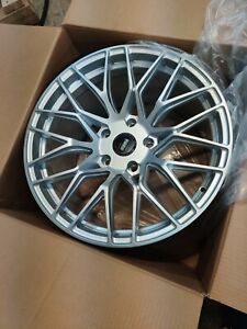 New Silver Momo Catania Wheels 19x9 11 Porsche 996 997 turbo widebody Gt Hre Oem