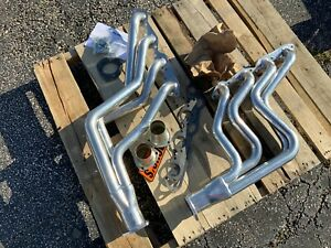 Dougs Headers D313 1967 74 Ceramic Coated Chevy Camaro Big Block Headers Bbc