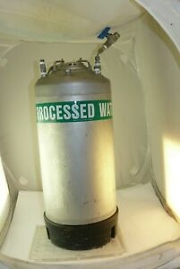 Alloy Products Corp T 316 Stainless Steel Pressure Vessel 20 Liter Capacity 155p