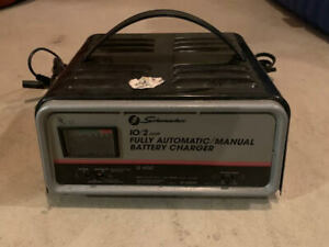 Schumacher Se 520ma Fully Automatic Manual Battery Charger 12 Volt 10 2 Amp