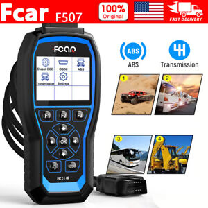 Heavy Duty Truck Scanner Fcar Auto Diagnostic For 24v Diesel Truck Obd2 Scanner