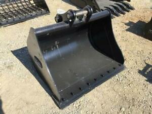 New Diesel 42 Excavator Grading Bucket Fits Cat 305 Jd 50d 50g Bobcat E50