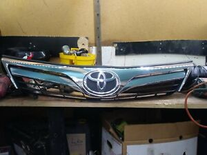 2012 2013 2014 Toyota Camry Front Upper Grille 53101 06340 Genuine Oem