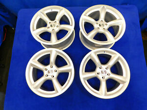 05 06 07 08 09 Mustang 19 Saleen Staggered Heritage Wheel Set Silver C88
