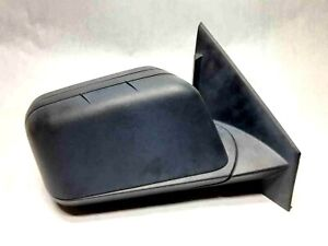 2009 2011 Ford Edge Right Passenger Side Door Mirror Black Textured Dual Spotter