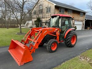 Kubota Grand L3240 Factory Cab 550hrs 34hp 4x4 Hydro Kubota La724 Loader