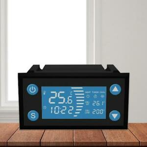 110 220v Smart Temperature Controller Timer For Incubator Aquarium Thermostat