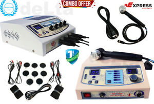 Best 4 Channel Elctrotherapy And 1 Mhz Ultrasound Therapy Machine combo Units F