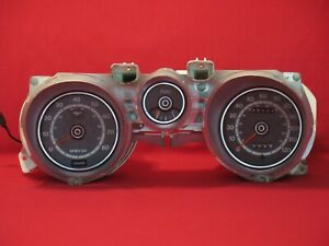 1971 1972 1973 Ford Mustang Tach Gauge Cluster With Tested Gauges Dizf 17360 F