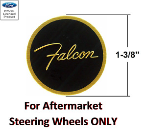 Ford Falcon Steering Wheel Horn Button Insert Decal 1 3 8