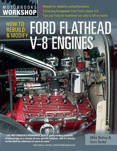 How To Rebuild Modify Ford Flathead V 8 Engines Book By Vern Tardel Scta New