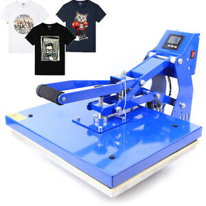 Highend 16 x20 Auto Open T shirt Heat Press Transfer Print Machine Hot Stamping