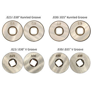 Drive Roll 023 030 035 Knurled V Groove Feed For Chicago Electric Mig Welder