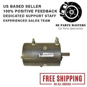 Warn 74756 Replacement Winch Motor For Warn M12000