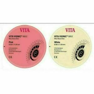 Vita Vionic Base Wax Ids Dental Free Shipping