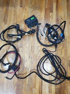 Western Fisher Fleet Flex Plow Wiring Harness With Headlights For Hb1 hb5 Or Hid