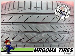 1 Dunlop Signature Hp 245 40 18 Used Tire 80 Rmng No Patch 93w 2454018