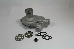 Gm Sb Chevy Short Water Pump Sbc 283 327 350 High Volume Aluminum Satin