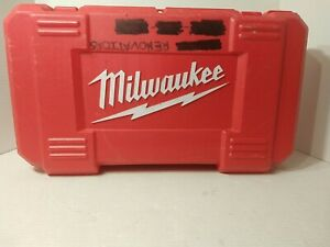 Milwaukee 1107 1 Corded 1 2 Right Angle Drill Works Great With Case