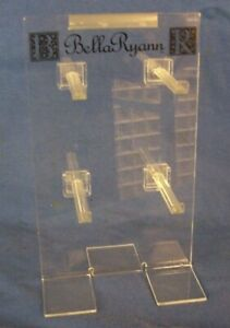 Store Display Fixtures Counter Top Acrylic Bracelet Display 4 Rods 10 Tall