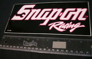 Snap On Racing Ss1208 Sticker Decal 9 X 4 Inches