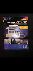 New Reliance Controls 3006hdk 6 circuit Generator Power Transfer Switch Kit