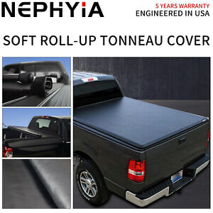 For 2019 2020 Ford Ranger 5 0ft Bed Soft Vinyl Roll Up Tonneau Cover Waterproof