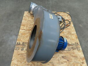 Torit Dust Collector 2 Hp Radial Blade Blower 230 460v 3 Phase