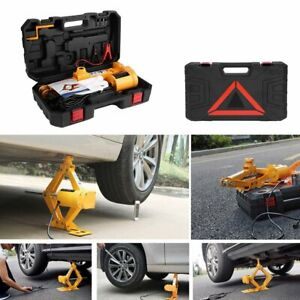 2 Ton 12v Multifunctional Auto Electric Hydraulic Jack Car Lift Tire Repair Too
