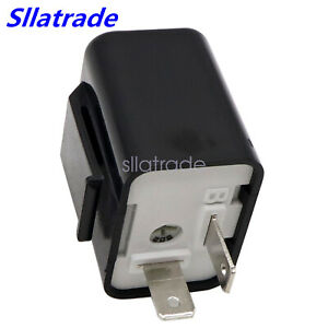 Adjustable Led Flasher Relay Turn Signal Blinker Light 12v 2pin For Motorcycle