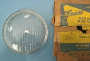 Nos Guide Fog Light Lens Original 45 8 1942 1948 Chevrolet And Others 5933400