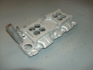 Offenhauser Small Block Chevy 2x4 Intake Manifold 5253 Dual Quad Dual Carb