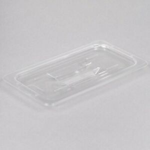 Restaurant Equipment 2 Polycarbonate Lids For Steam Table Pans 1 3rd Size Clear