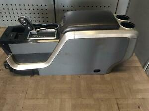 2011 2012 Ford F150 Front Floor Console Withlid Withfloor Shifter Oem