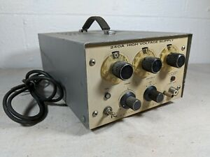 Keithley Instruments Model 240a High Voltage Power Supply Untested 0 1200 Vdc
