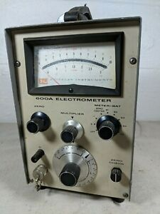 Keithley Instruments 600a Electrometer Untested Garage Find