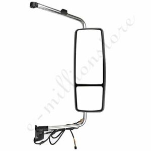 right Chrome Truck Mirror Complete For 2002 2018 International Prostar