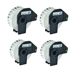 4roll Dk 2210 Continuous Label For Brother Ql 570 1050 570vm 720nw 710w W frame