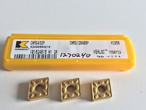 Kennametal Cnmg432p Turning Kc850 Inserts 5 Inserts As Shown