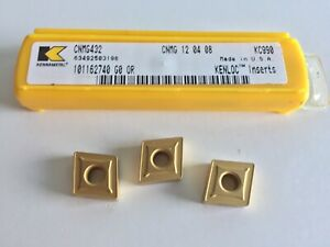 Kennametal Cnmg432 Turning Kc990 Inserts 5 Inserts As Shown