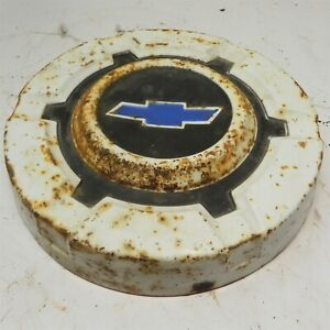 1969 70 71 72 Chevy 1 2 Ton Truck 10 1 2 Hubcap Wheel Cover Blue Bowtie