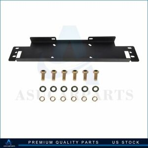 1x Winch Mount Mounting Plate High Quality Steel