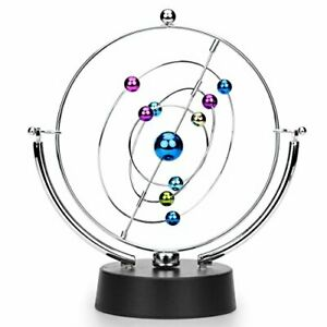 Kinetic Art Asteroid Electronic Perpetual Motion Desk Toy Home Decoration