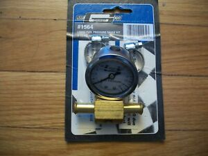 Mr Gasket 1564 Liquid Filled Fuel Pressure Gauge Kit 0 15 Psi